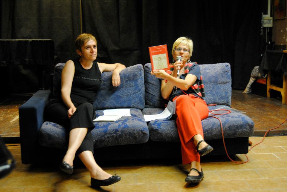 presentazione Il Giusto mondo a Bergamo Laura De Benedetti con Silvia Dradi Paganelli
