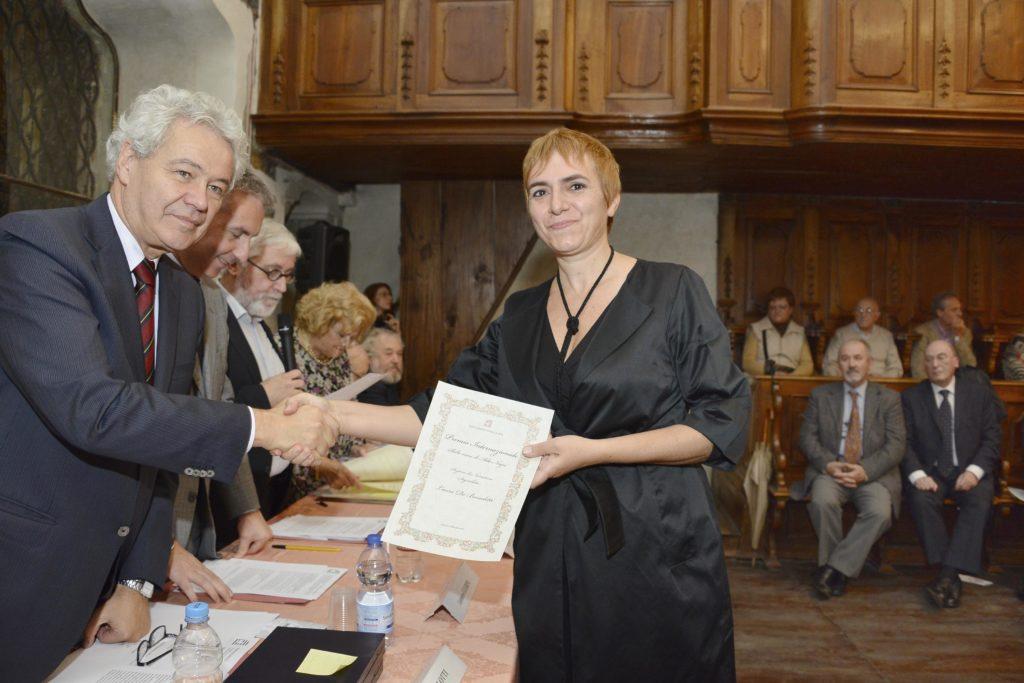 Segnalazione de 'Il giusto mondo' al Premio internazionale 'Sulle orme di Ada Negri'